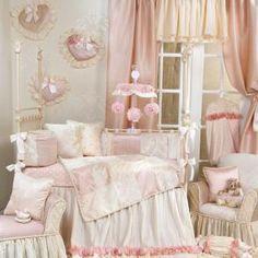 Victoria Bedding by Glenna Jean - Baby Crib Bedding - 11140