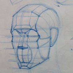 Diagram in progress from today's class at @laafa #art #artist #portrait #sketch #drawing #portraitdrawing #anatomydrawing #anatomy #head #construction #figure #la #aesthetic #howtodraw #bestdm by ramon.alex.hurtado