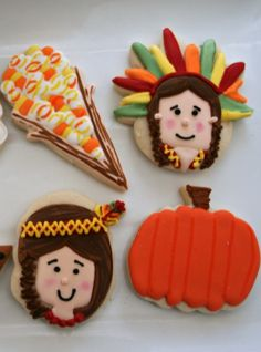 Decorated Indian Cookies | Dixieland Sweets