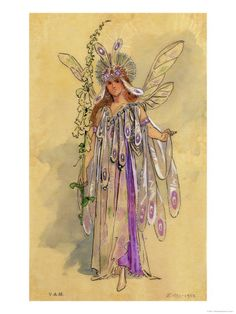 Google Image Result for http://cache2.allpostersimages.com/p/LRG/15/1506/DI1BD00Z/posters/wilhelm-c-titania-queen-of-the-fairies-costume-design-for-a-midsummer-night-s-dream.jpg