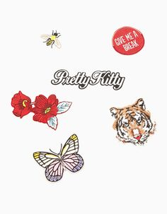 At Stradivarius you'll find 1 Set of 6 patches for just 199 Egypt . Visit now to discover this and more Patches and pins.