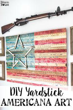 DIY Yardstick Americ
