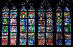Prophets in Stained-Glass, Notre-Dame, Paris