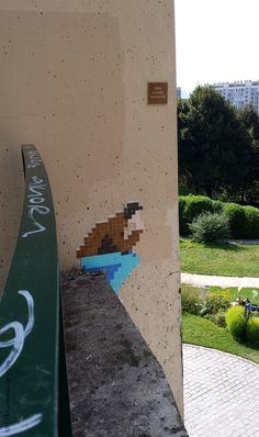 Megamatt  Paris 20, Parc de Belleville, 2014-09.