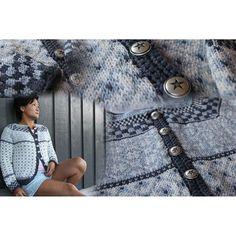 Bilderesultat for kristin wiola odegard Fair Isles, Fair Isle Pattern, Knit Picks, Crochet Necklace, Crochet Patterns, Winter Hats, Vest, Sewing, Knitting