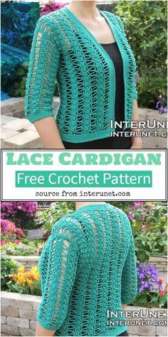 50 Best Crochet Cardigan Patterns (Design & Ideas) For 2021 Crochet Cocoon, Chunky Crochet, Easy Crochet, Free Crochet, Crochet Ideas, Crochet Tutorials, Crochet Projects, Crochet Cardigan Pattern, Crochet Jacket