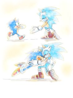 Sonic: Too many people I love and I just know someday I'm going to lose them all. Again. [Sonic and his Uncle Chuck...]