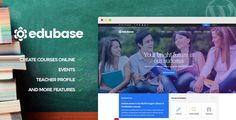 Education, Events & Courses WordPress Themeis a beautiful, clean, and professional theme created for educational establishments like colleges and schools, as well as online learning, tr...
