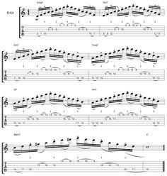 C Diatonic String Skip Arpeggio Tap Lick With Chris Zoupa [Lessons]