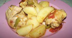Κοτόπουλο γεμιστό με πιπεριές, τυρί και ντομάτα | ΣΥΝΤΑΓΕΣ ΜΑΓΕΙΡΙΚΗΣ