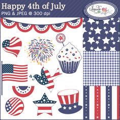 happy fourth of july clip art for facebook