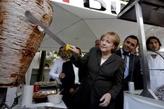 There's Nothing More German Than a Big, Fat Juicy Döner Kebab. Though the claim is disputed, Kadir Nurman, a 78-year-old who came to Germany from Turkey in the 1960s, was honored as its inventor at the Döner Kebab trade fair.