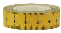 ruler masking tape :-)