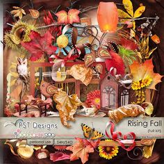 Rising Fall - autumn kit @Pickleberrypop @PST Designs
