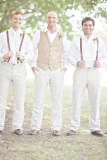 Suspenders for Groomsmen to wear! | fetenashville.com