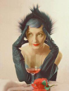 Betty Downey, fashion editor 1950