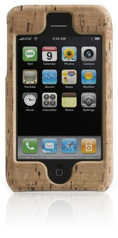 iPhone case made from cork by : Griffin Winemakers have for years used the bark of cork trees to cap their bottles. The unequaled sealing qualities of the spongy material protects the contents for years and allows wine to age into succulent works of art.