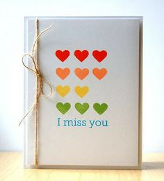 I really want to make this to send my husband...it's perfect because there are no glued layers!