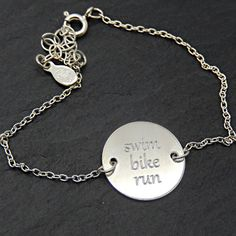 Need some extra inspiration? Check out these custom inspiration bracelets.