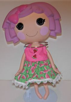 LaLaLoopsy watermelon dress for 13 dolls Cool