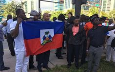 As former Haiti coup leader Guy Philippe pleaded not guilty to drug-trafficking and money-laundering charges in Miami on Friday, supporters in Haiti and Miami pressed their demands for his release.
