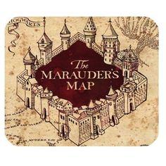 Allgemeinen DIY Marauders Map Mauspad für Laptop oder Com…