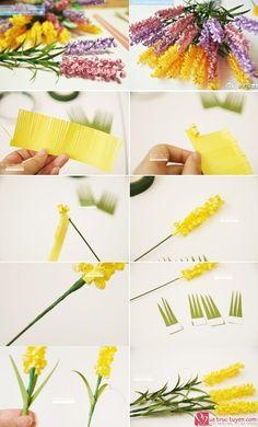 Cách làm hoa giấy 20/11 handmade