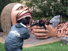 Do you want to experience eaten by a Titan? Universal Studios Japan!!!