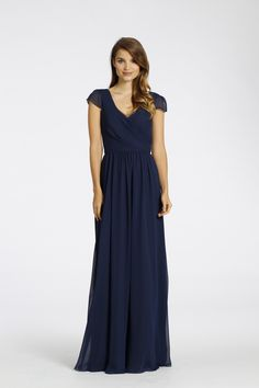 Shop Jim Hjelm Bridesmaid Dress - 5530 in Chiffon at Weddington Way. Find the perfect made-to-order bridesmaid dresses for your bridal party in your favorite color, style and fabric at Weddington Way.