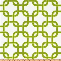 Premier Prints Gotcha White/Chartreuse  Item Number: UM-293  Our Price: $7.48 per Yard