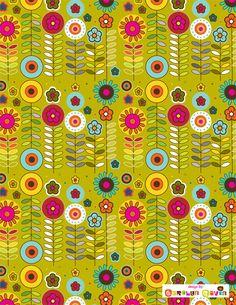 By Carolyn Gavin floral pattern