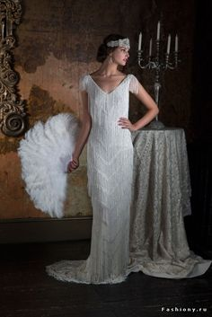 Eliza Jane Howell 2016 Wedding Dresses - World of Bridal 2016 Wedding Dresses, Wedding Gowns, Vestidos Vintage, Vintage Dresses, Style Année 20, Gatsby Dress, 1920s Wedding, Beautiful Gowns, The Dress