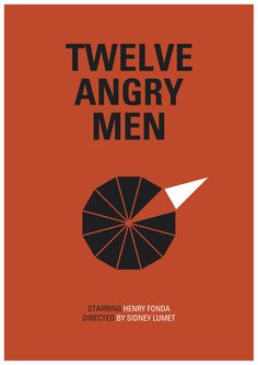 12 Angry Men by John Lloyd  A great movie that takes place in one room, no women in it. One of my favorites