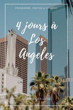 Retrouvez le récit de notre séjour de 4 jours à Los Angeles. Programme détaillé, conseils et bonnes adresses sont au rendez-vous :) #losangeles #cityguide #voyage #travel #california #californie