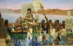 Sir Lawrence Alma-Tadema, The finding of Moses, 1904