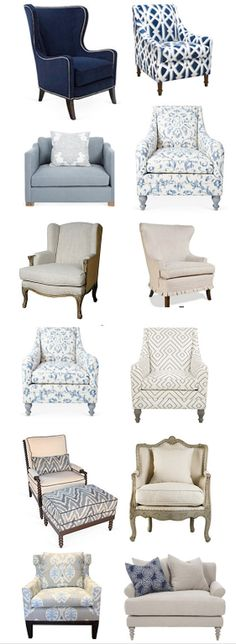 Sofas, chairs, chaises, daybeds, etc. One week sale