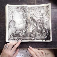 Ink. Pen. Moleskine