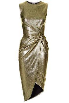 **Metallic Knot Dress by Wal G