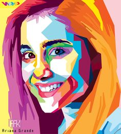 Ariana Grande in WPAP, My Girlfriend and so Beautiful :3