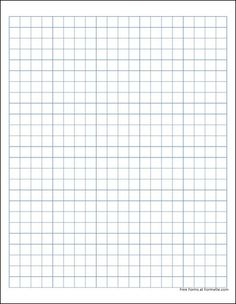 Free Graph Paper (1 Centimeter Solid Blue)