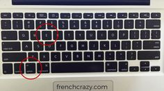 How Can I Type French Accents On A Mac Hold Option Key And Type Letter All Macs Are Designed To Handle Macbook Keyboard Cover Keyboard Macbook Keyboard