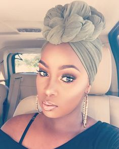 How to wear a turban #turban #blackwomenhair