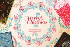 Big  Vintage Christmas set.  by Klepsidra_day on @creativework247