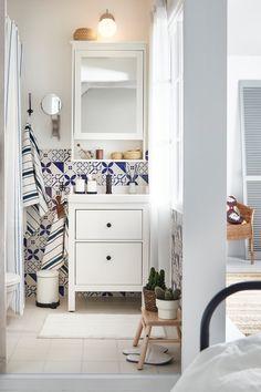 Hemnes, Ikea Bad, Ikea House, A Shelf, House Ideas, Inspiration, Design, Home Decor, Houses