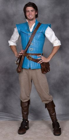 Completed Flynn Rider costume