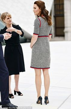 The Duchess will tour the V&A Exhibition Road Quarter's new spaces, designed by British ar...