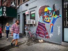DSCF2616.jpg (john fullard) Tags: street city nyc urban streetart newyork les graffiti mural candid explore plaid fujix10 bradleytheodore