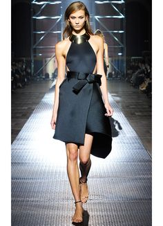 Karlie in #Lanvin . Can I have this for spring?!