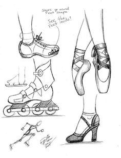 Нарисуйте ноги 3 Диана-Хуан на deviantart