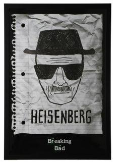Breaking Bad Heisenberg Framed Poster - 66 x 96
